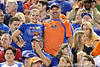 Florida fans cheer before the Gators' 38-10 loss to the Alabama Crimson Tide on Saturday, October 1, 2011 at Ben Hill Griffin Stadium in Gainesville, Fla. / Gator Country photo by Andy Gregroy