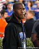 Jacksonville (Fla.) Wolfson wide receiver Jasper Sasson looks on before the Gators' 38-10 loss to the Alabama Crimson Tide on Saturday, October 1, 2011 at Ben Hill Griffin Stadium in Gainesville, Fla. / Gator Country photo by Tim Casey