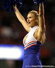Florida cheerleaders perform before the Gators' 38-10 loss to the Alabama Crimson Tide on Saturday, October 1, 2011 at Ben Hill Griffin Stadium in Gainesville, Fla. / Gator Country photo by Tim Casey