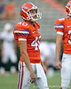 Florida senior punter David Lerner warms up before the Gators' 41-3 win against the FAU Owls on Saturday, September 3, 2011 at Ben Hill Griffin Stadium in Gainesville, Fla. / Gator Country photo by Tim Casey