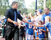 Florida sophomore running back Trey Burton arrives before the Gators' 41-3 win against the FAU Owls on Saturday, September 3, 2011 at Ben Hill Griffin Stadium in Gainesville, Fla. / Gator Country photo by Tim Casey