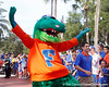 Albert awaits the arrival of the team before the Gators' 41-3 win against the FAU Owls on Saturday, September 3, 2011 at Ben Hill Griffin Stadium in Gainesville, Fla. / Gator Country photo by Tim Casey