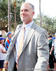 Florida linebackers coach/special teams coordinator D.J. Durkin arrives before the Gators' 41-3 win against the FAU Owls on Saturday, September 3, 2011 at Ben Hill Griffin Stadium in Gainesville, Fla. / Gator Country photo by Tim Casey