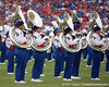 The Florida marching band performs before the Gators' 41-3 win against the FAU Owls on Saturday, September 3, 2011 at Ben Hill Griffin Stadium in Gainesville, Fla. / Gator Country photo by Tim Casey