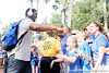 Florida freshman quarterback Jacoby Brissett greets fans before the Gators' 41-3 win against the FAU Owls on Saturday, September 3, 2011 at Ben Hill Griffin Stadium in Gainesville, Fla. / Gator Country photo by Tim Casey