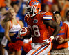 Florida senior running back Jeff Demps runs 20 yards for a touchdown during the fourth quarter of the Gators' 41-3 win against the FAU Owls on Saturday, September 3, 2011 at Ben Hill Griffin Stadium in Gainesville, Fla. / Gator Country photo by Tim Casey