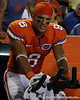 Florida sophomore running back Trey Burton pedals a stationary bike during the second quarter of the Gators' 41-3 win against the FAU Owls on Saturday, September 3, 2011 at Ben Hill Griffin Stadium in Gainesville, Fla. / Gator Country photo by Tim Casey
