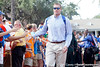 Florida senior tight end William Steinmann arrives before the Gators' 41-3 win against the FAU Owls on Saturday, September 3, 2011 at Ben Hill Griffin Stadium in Gainesville, Fla. / Gator Country photo by Tim Casey