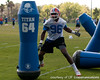 Florida senior defensive end William Green works out during the Gators' practice on Wednesday, March 16, 2011 at the Sanders football practice fields. / photo courtesy of UF Communications
