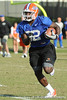 Florida redshirt junior receiver Omarius Hines works out during the Gators' practice on Wednesday, March 16, 2011 at the Sanders football practice fields. / photo courtesy of UF Communications