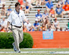 Florida head coach Will Muschamp walks across the field during the Gators' spring football game on Saturday, April 9, 2011 at Ben Hill Griffin Stadium in Gainesville, Fla. / Gator Country photo by Tim Casey