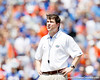 Florida head coach Will Muschamp looks at a video replay during the Gators' spring football game on Saturday, April 9, 2011 at Ben Hill Griffin Stadium in Gainesville, Fla. / Gator Country photo by Tim Casey