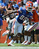 UF wide receiver Stephen Alli runs a route during the 2011 Orange and Blue Debut at Ben Hill Griffin Stadium on Saturday, April 9, 2011. / Gator Country photo by Harrison Diamond