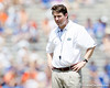 Florida head coach Will Muschamp looks on during the Gators' spring football game on Saturday, April 9, 2011 at Ben Hill Griffin Stadium in Gainesville, Fla. / Gator Country photo by Tim Casey