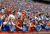 Florida fans cheer during the Gators' spring football game on Saturday, April 9, 2011 at Ben Hill Griffin Stadium in Gainesville, Fla. / Gator Country photo by Tim Casey