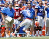 Florida redshirt senior receiver Deonte Thompson controls a fumble during the Gators' spring football game on Saturday, April 9, 2011 at Ben Hill Griffin Stadium in Gainesville, Fla. / Gator Country photo by Tim Casey