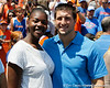Tim Tebow poses for a photo during the Gators' spring football game on Saturday, April 9, 2011 at Ben Hill Griffin Stadium in Gainesville, Fla. / Gator Country photo by Tim Casey