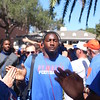 South Carolina at Florida gator walk 10-20-2012 :