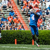 Florida junior Andre Debose makes a catch during the Gators' Orange and Blue Debut  on Saturday,  April 7, 2012 at the Ben Hill Griffin Stadium in Gainesville, Fla. / Gator Country photo by Saj Guevara