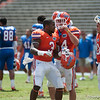 Florida red shirt junior Jelani Jenkins  during the Gators' Orange and Blue Debut  on Saturday,  April 7, 2012 at the Ben Hill Griffin Stadium in Gainesville, Fla. / Gator Country photo by Saj Guevara