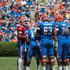 Florida red shirt freshman Trip Thurman during the Gators' Orange and Blue Debut  on Saturday,  April 7, 2012 at the Ben Hill Griffin Stadium in Gainesville, Fla. / Gator Country photo by Saj Guevara
