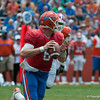 Florida sophore Jeff Driskel at quarterback  during the Gators' Orange and Blue Debut  on Saturday,  April 7, 2012 at the Ben Hill Griffin Stadium in Gainesville, Fla. / Gator Country photo by Saj Guevara