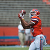 Florida red shirt freshman Marcus Thompson on defense during the Gators' Orange and Blue Debut  on Saturday,  April 7, 2012 at the Ben Hill Griffin Stadium in Gainesville, Fla. / Gator Country photo by Saj Guevara
