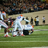 Florida freshman Antonio Morrison during the Gators' 31-17 win against the Vanderbilt Commodores Saturday October 13, 2012 at the Vanderbilt Stadium in Nashville, TN. / Gator Country photo by Saj Guevara