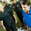 Florida  headcoach Will Muschamps during the Gators' 31-17 win against the Vanderbilt Commodores Saturday October 13, 2012 at the Vanderbilt Stadium in Nashville, TN. / Gator Country photo by Saj Guevara