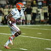 Florida redshirt junior Andre Debose during the Gators' 31-17 win against the Vanderbilt Commodores Saturday October 13, 2012 at the Vanderbilt Stadium in Nashville, TN. / Gator Country photo by Saj Guevara