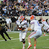 Florida  senior Mike Gillislee during the Gators' 31-17 win against the Vanderbilt Commodores Saturday October 13, 2012 at the Vanderbilt Stadium in Nashville, TN. / Gator Country photo by Saj Guevara