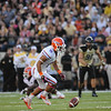 Florida junior Trey Burton during the Gators' 31-17 win against the Vanderbilt Commodores Saturday October 13, 2012 at the Vanderbilt Stadium in Nashville, TN. / Gator Country photo by Saj Guevara