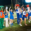 Cheerleaders during the Gators' 31-17 win against the Vanderbilt Commodores Saturday October 13, 2012 at the Vanderbilt Stadium in Nashville, TN. / Gator Country photo by Saj Guevara