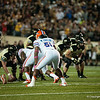Florida  redshirt sophomore Michael Taylor during the Gators' 31-17 win against the Vanderbilt Commodores Saturday October 13, 2012 at the Vanderbilt Stadium in Nashville, TN. / Gator Country photo by Saj Guevara