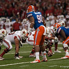 Florida Jonathan Bullard   during the Gators' 33-23 loss against the Louisville Cardinals Wednesday January 2, 2013 at the Mercedes-Benz Superdome in New Orleans, LA. / Gator Country photo by Saj Guevara