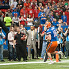 Florida Kent Taylor during the Gators' 33-23 loss against the Louisville Cardinals Wednesday January 2, 2013 at the Mercedes-Benz Superdome in New Orleans, LA. / Gator Country photo by Saj Guevara