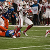 Louisville Cardinals   during the Gators' 33-23 loss against the Louisville Cardinals Wednesday January 2, 2013 at the Mercedes-Benz Superdome in New Orleans, LA. / Gator Country photo by Saj Guevara