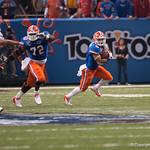 Florida  Trey Burton   during the Gators' 33-23 loss against the Louisville Cardinals Wednesday January 2, 2013 at the Mercedes-Benz Superdome in New Orleans, LA. / Gator Country photo by Saj Guevara