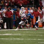 Florida   Lerentee McCray  during the Gators' 33-23 loss against the Louisville Cardinals Wednesday January 2, 2013 at the Mercedes-Benz Superdome in New Orleans, LA. / Gator Country photo by Saj Guevara