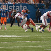 Florida   Josh Evans  during the Gators' 33-23 loss against the Louisville Cardinals Wednesday January 2, 2013 at the Mercedes-Benz Superdome in New Orleans, LA. / Gator Country photo by Saj Guevara