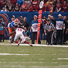 Florida  Omarius Hines   during the Gators' 33-23 loss against the Louisville Cardinals Wednesday January 2, 2013 at the Mercedes-Benz Superdome in New Orleans, LA. / Gator Country photo by Saj Guevara