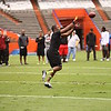 Jelani Jenkins during a linebacker drill during UF's Pro Day on March 12, 2013 at Ben Hill Griffin Stadium in Gainesville, Florida. Representatives from all 32 NFL teams were present as current and former Gator players worked out and did drills on the field. Picture taken by Curtiss Bryant for Gatorcountry.com