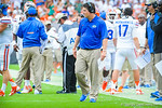 Coach WIll Muschamp.  Gators vs Miami.  9-7-13.