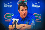 Coach Will Muschamp at the post game press conference.  Gators vs Miami.  9-7-13.