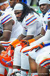 LB Ronald Powell.  Gators vs Miami.  9-7-13.