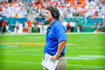 Coach WIll Muschamp.  Gators vs Miami.  9-7-13