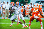 Driskel hands off to RB Matt Jones.  Gators vs Miami.  9-07-13.