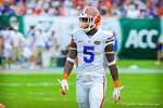 DB Marcus Roberson.  Gators vs Miami.  9-07-13.