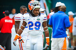 FB Rhahem Ledbetter.  Gators vs Miami.  9-07-13.