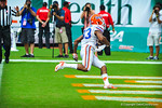 WR Solomon Patton goes in for the touchdown.  Gators vs Miami.  9-07-13.